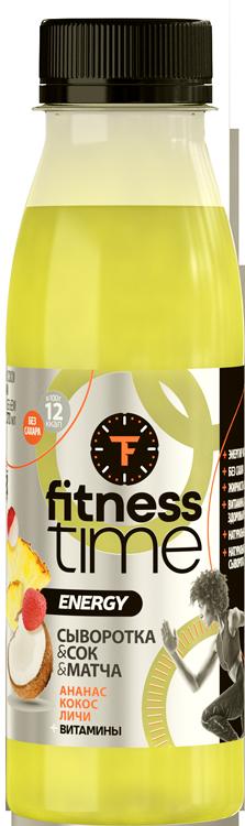 FitnessTime - функциональные молочные продукты